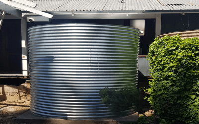 Rainwater Tank for Clare home.